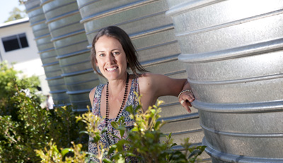 Water saving programmes at Griffith University